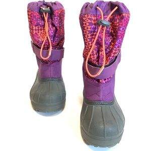 Columbia Winter Snow Boots Toddler Girl Size 3